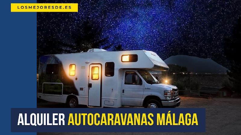 alquiler autocaravanas Málaga