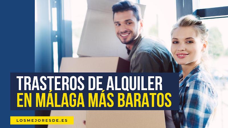 trasteros alquiler Málaga baratos